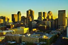 Montreal dalla cima Immagine Stock