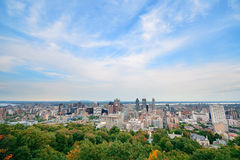Montreal day view Stock Photo