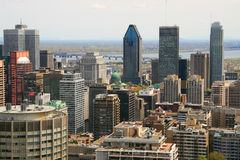 Montreal Daytime Royalty Free Stock Photography