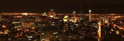Montreal del centro Immagini Stock