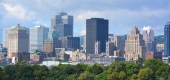 Montreal del centro Immagine Stock Libera da Diritti