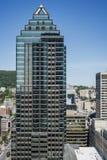 Montreal del centro di costruzione moderna Fotografia Stock Libera da Diritti
