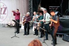 """""""Montreal Dixieâ€- im Montreal Jazz Festival, 2017 stockbilder"""