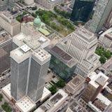 Montreal do centro de cima de Imagem de Stock Royalty Free