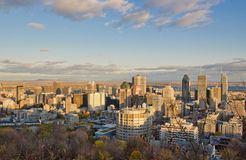 Montreal Downtown stock photos