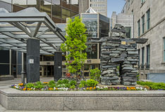 Montreal downtown Stock Photos