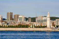 Montreal Dowtown und Einhängen-Königliches Lizenzfreies Stockbild