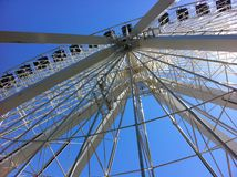 Montreal Ferris Wheel Background foto de archivo