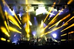 Montreal festiwal jazzowy Obrazy Royalty Free