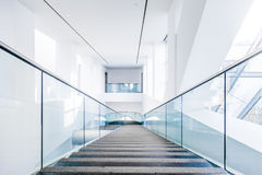 Montreal Fine Arts Museum Modern Staircase Set Stock Image