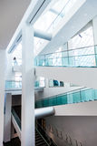Montreal Fine Arts Museum Modern Staircase Set Royalty Free Stock Photo