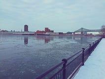 Montreal flod Royaltyfria Foton