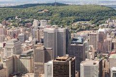 Montreal flyg- sikt Arkivbilder