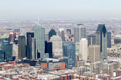 Montreal flyg- sikt Arkivfoton