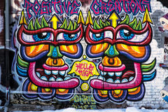 Montreal Graffiti Stock Photo