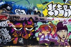 Montreal graffiti Stock Images