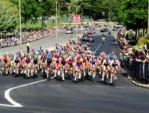 Montreal großartiges prix Fahrradrennen Stockbilder