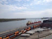 Montreal-Hafen Stockbilder