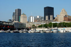 Montreal harbour Stock Images
