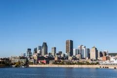 Montreal horisont Royaltyfri Foto