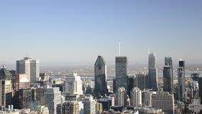 Montreal horisont arkivfilmer