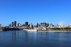 Montreal horisont Arkivfoto
