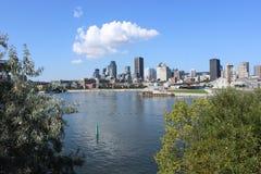 Montreal horisont Arkivbilder