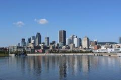 Montreal horisont Arkivfoton