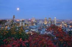 Montreal im Stadtzentrum gelegen Stockfotos
