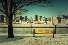 Montreal im Stadtzentrum gelegen Lizenzfreie Stockfotos