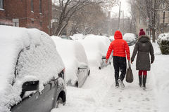 Montreal im Winter