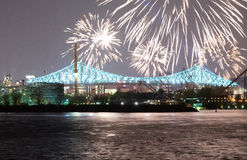 Montreal - Jacques-Cartier Bridge fotos de stock royalty free