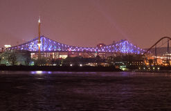 Montreal - Jacques-Cartier Bridge Royalty Free Stock Photos