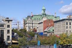 Montreal Jacques Cartier Place, Quebec Fotos de archivo libres de regalías