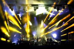 Montreal Jazz Festival Royaltyfria Bilder