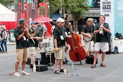 Montreal Jazz Festival 2017 stockbilder