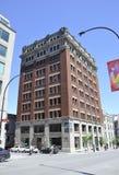 Montreal am 26. Juni: Historisches Gebäude von Vieux Montreal in Kanada Stockbild