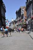 Montreal am 26. Juni: Straßenansicht von altem Montreal in Kanada Stockfoto