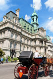 Montreal stadshus Royaltyfri Fotografi