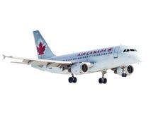 Montreal Kanada - Februari 12, 2012: Air Canada A320 Arkivbilder