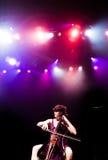 MONTREAL KANADA - Maj 23, 2013: Ra Ra Riot i konsert på metropolisen. Royaltyfri Foto