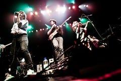 MONTREAL KANADA - Maj 23, 2013: Ra Ra Riot i konsert på metropolisen. Royaltyfri Fotografi
