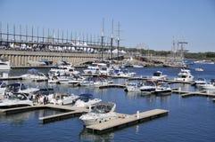 Montreal klassisk fartygfestival Royaltyfri Fotografi