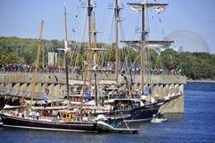 Montreal klassisk fartygfestival Royaltyfri Bild