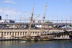 Montreal klassisk fartygfestival Arkivbild