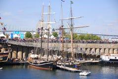 Montreal klassisk fartygfestival Fotografering för Bildbyråer