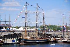 Montreal klassisk fartygfestival Royaltyfri Foto