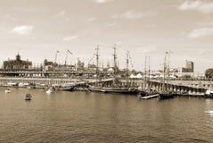 Montreal klassisk fartygfestival Royaltyfria Foton