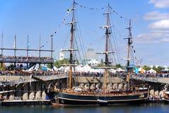 Montreal klassisk fartygfestival Arkivfoton