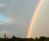 Montreal kościelna rainbow Obraz Stock